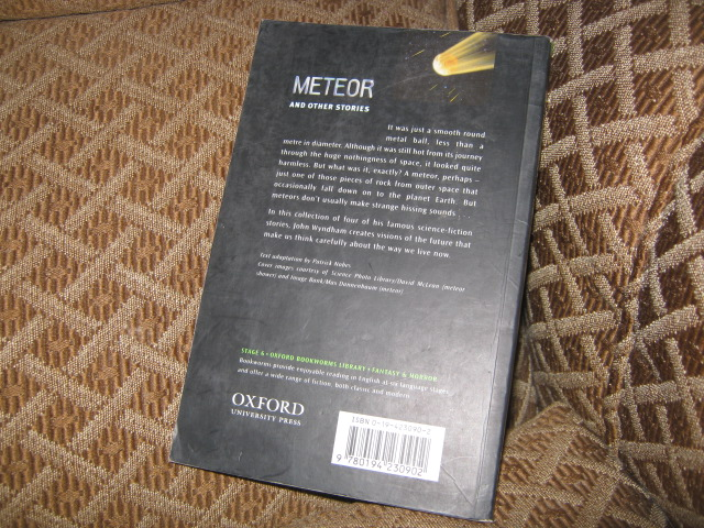 meteor by john wyndham By john wyndham  the following day the horrible effects of the green meteor shower are revealed: anyone caught looking directly at the light.