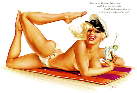 Alberto Vargas pin up girl