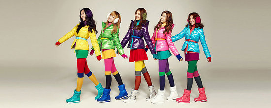 SNSD or Girls' Generation are the new models for E. Land Group's new clothing line, SPAO. The Winte