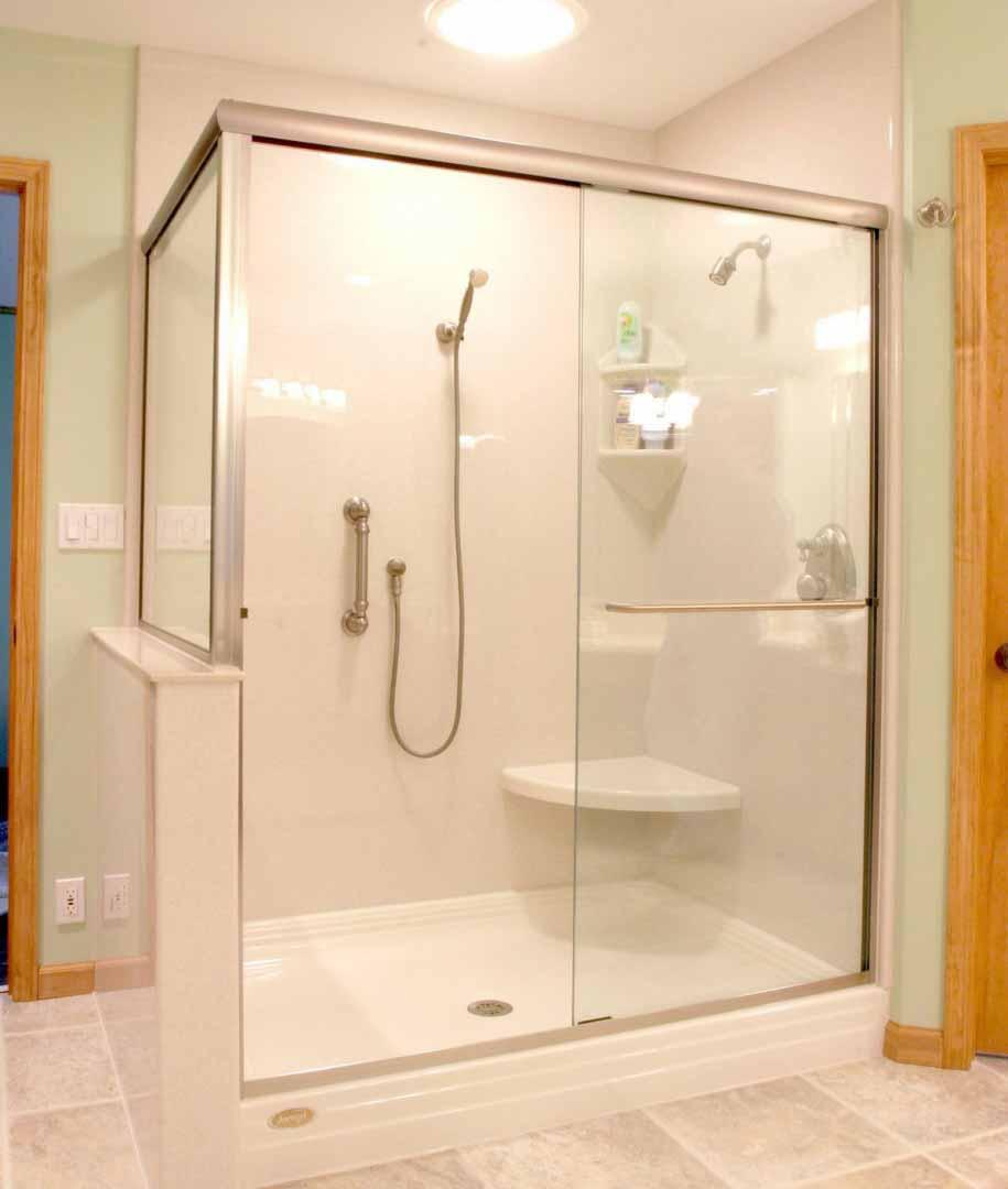 Desain Kamar Mandi Shower Minimalis Tanpa Bathup Terbaru