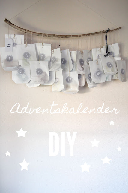 Amalie loves Denmark Adventskalender DIY