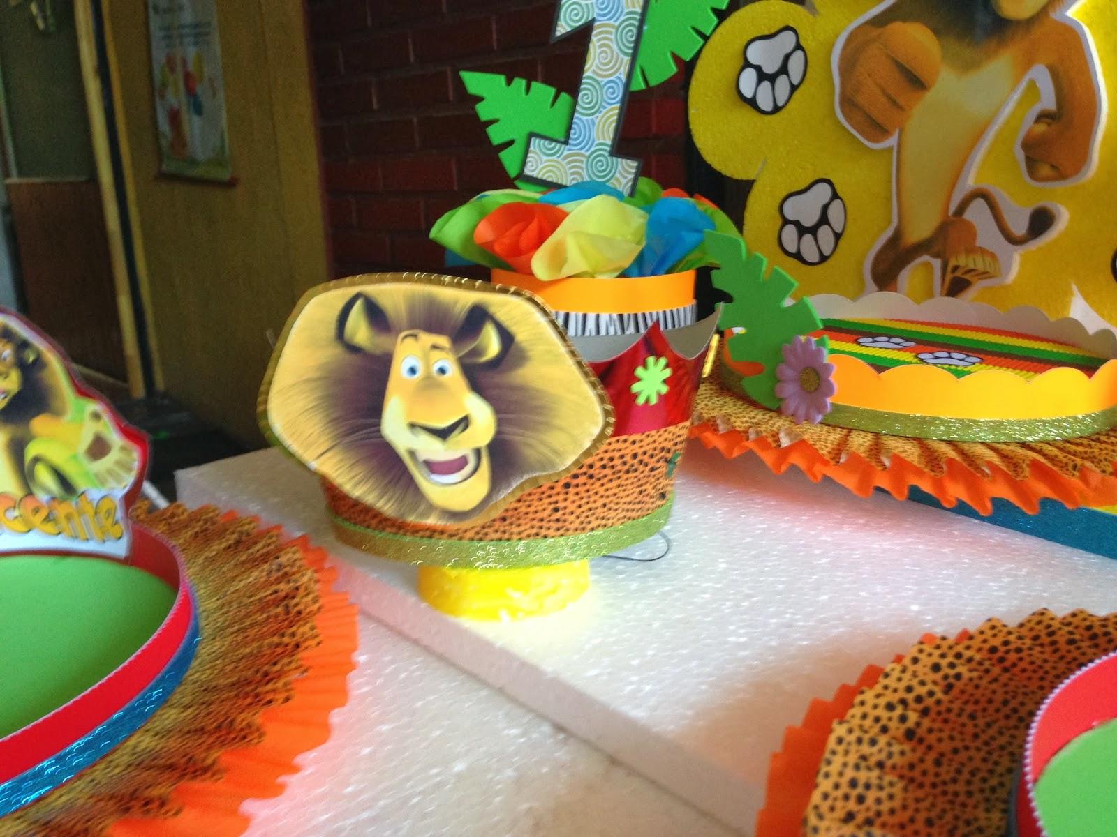 Decoraciones infantiles madagascar - Decoraciones para cumpleanos infantiles ...