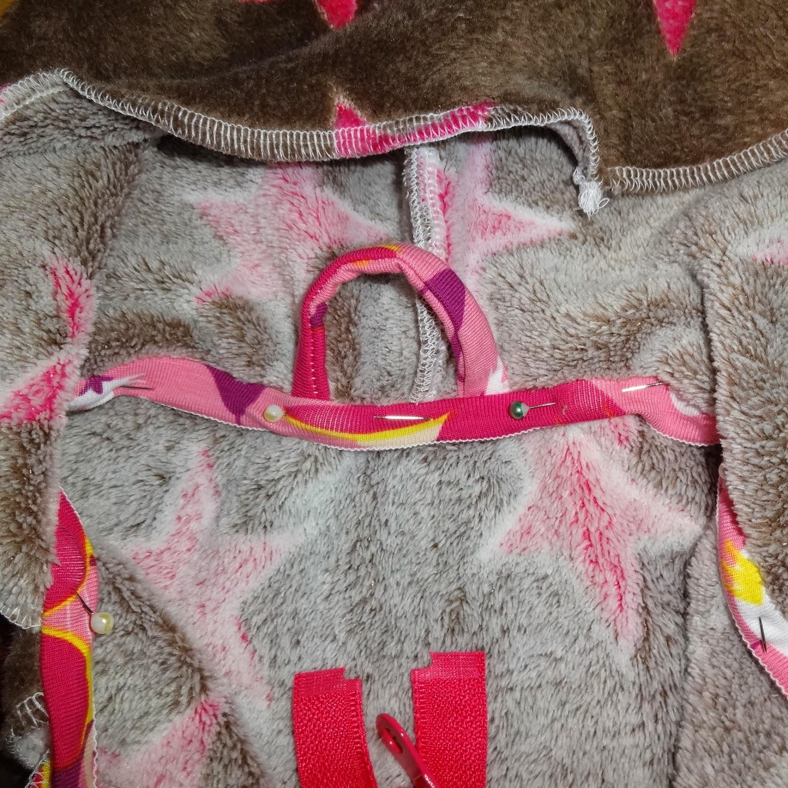Kuscheljacke für Mädchen Detail
