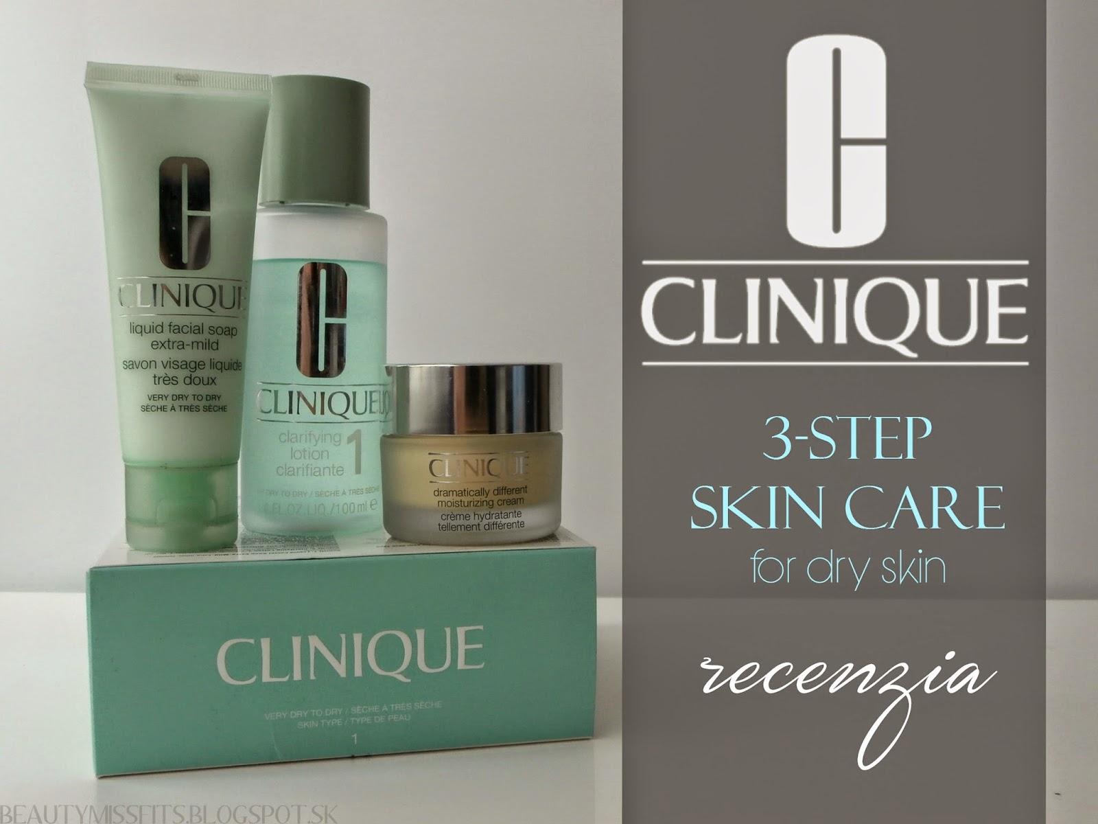Clinique   3-Step Skin Care (recenzia)