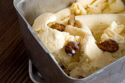 pecan peach ice cream