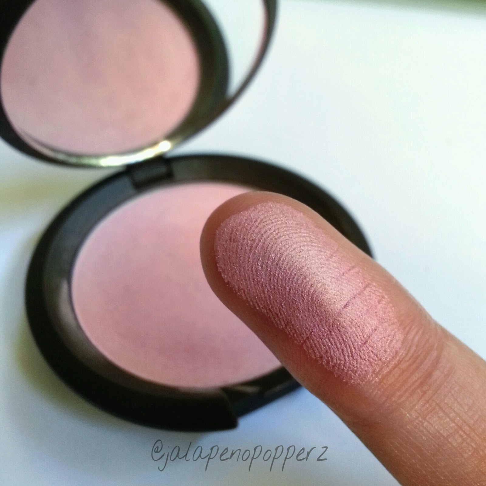 Jalapenopopperz: Review & Swatches: BECCA Cosmetics Mineral Blush ...