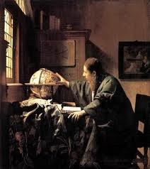 Vermeer schilderij De Astronoom