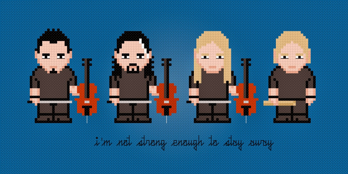 Apocalyptica - Cross Stitch PDF Pattern Download