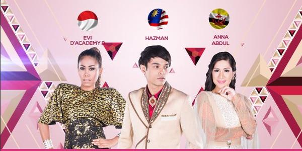 Penilaan Sementara Dangdut Academy Asia Group E Tgl 07 Desember 2015