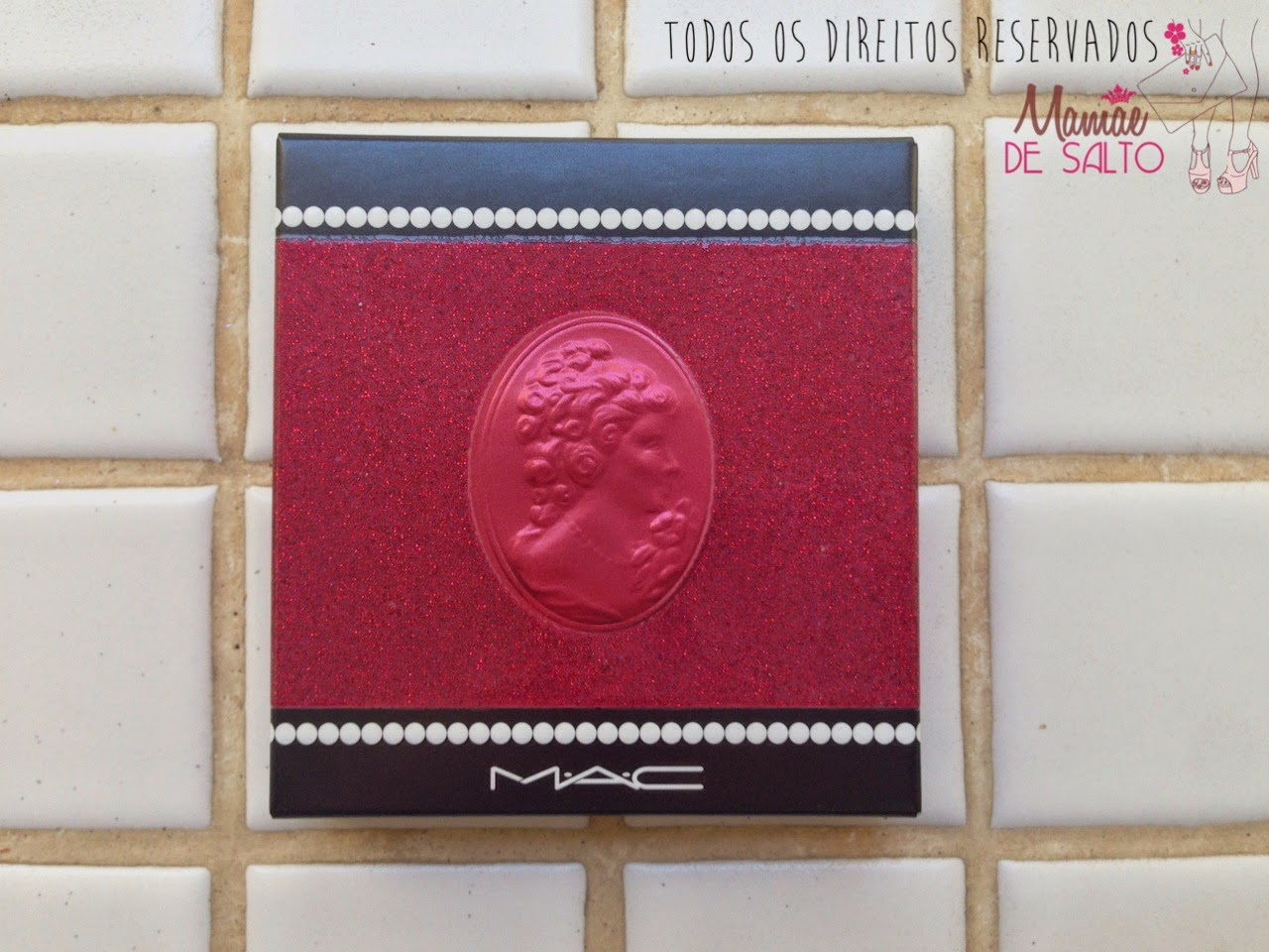 Coleção MAC Heirloom Mix paleta de batons coleção viva glam