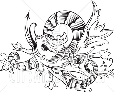 Koi fish tattoos black and white image search results for Black and white coy fish