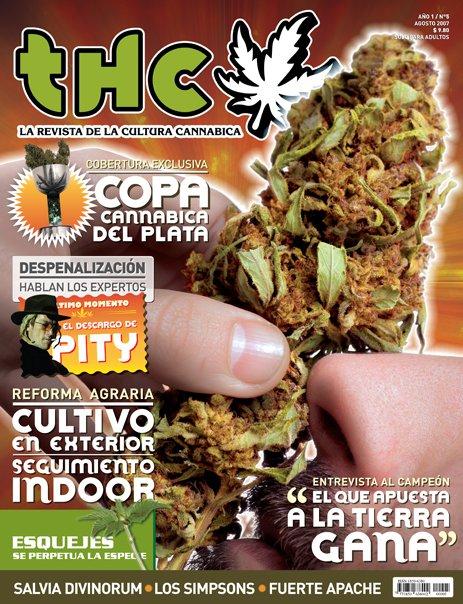 REVISTA THC Nº5 La Revista de la Cultura Cannábica