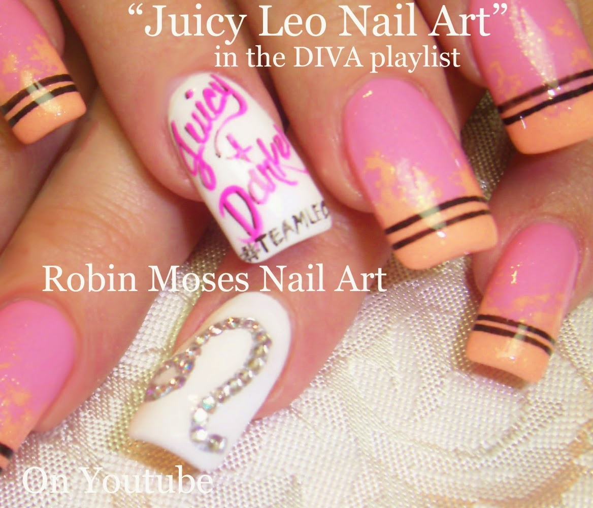 Nail Art By Robin Moses Long Nail Art Diy Nail Design Nail Art
