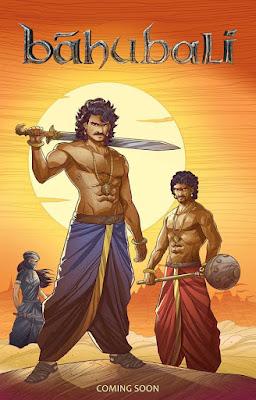 Baahubali Comics