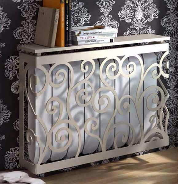 Muebles de forja nuevas incorporaciones en cubre for Muebles para cubrir radiadores