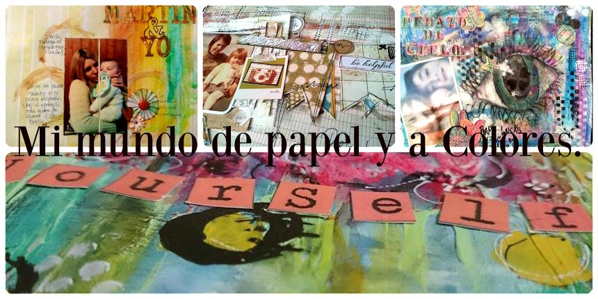 Mi mundo de papel y a colores.
