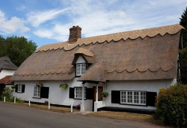 English Thatched Cottage