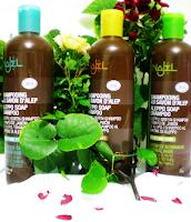 Champú jabón de Aleppo cabello graso, 500 ml