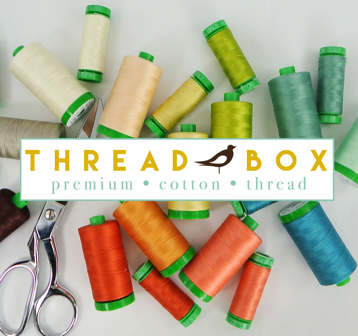 Birch + Aurifil Thread Boxes