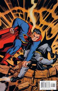 Superman fighting Batman