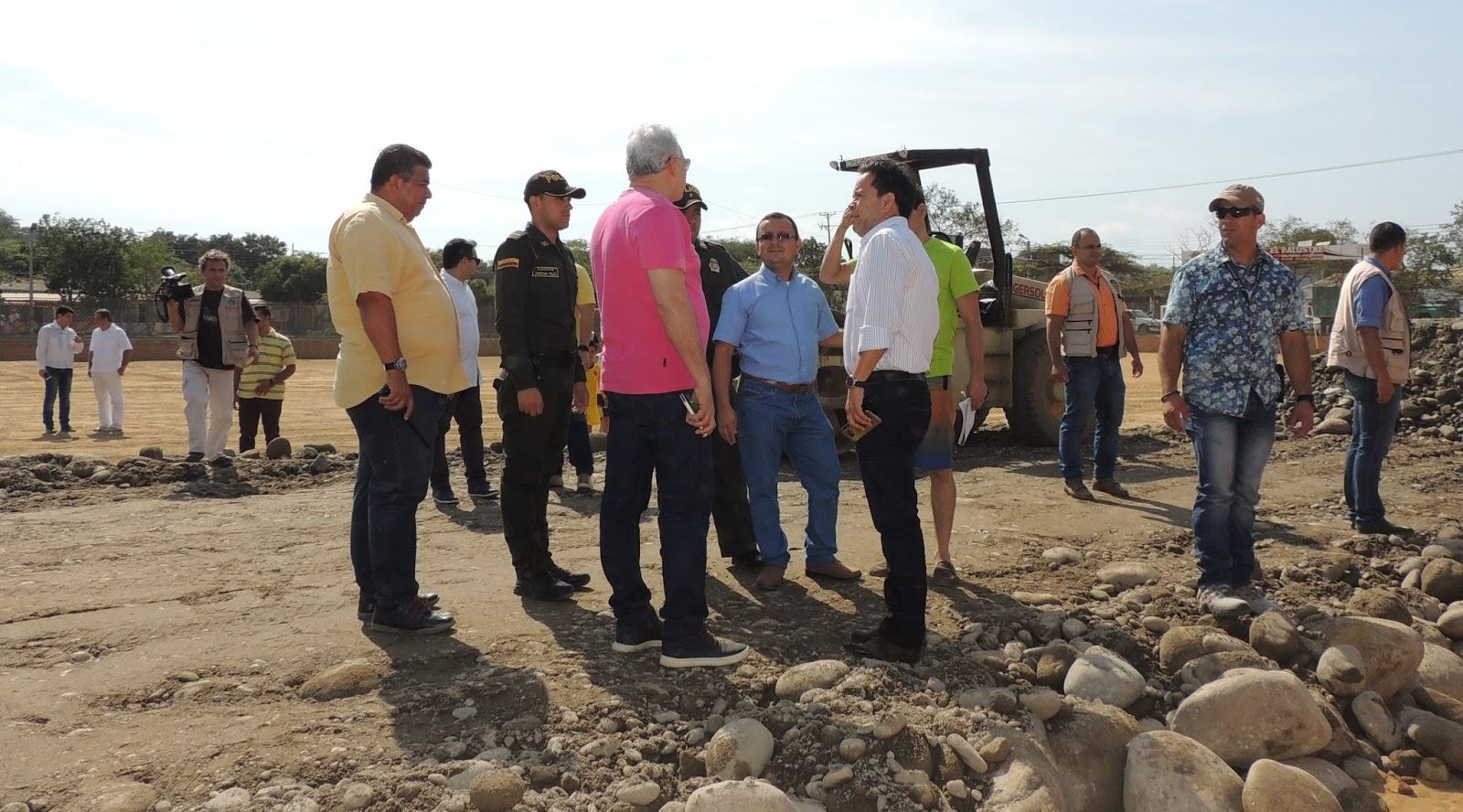 Gobernador inspcciona obras en Juan Atalaya #amigosporcucuta