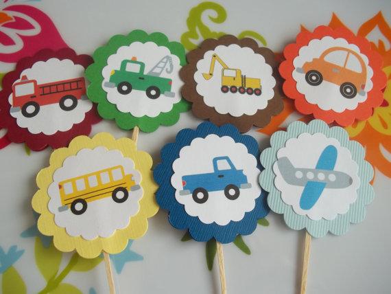 Kids Party Hub Transportation Birthday Ideas