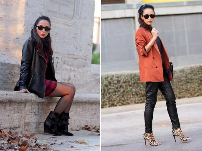Recopilación Outfits Bloguera valenciana moda