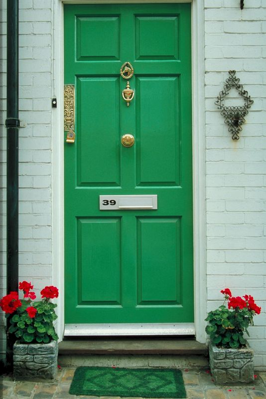 Door Color Amazing With Green Front Door Images