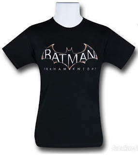 Purchase your Batman: Arkham Knight t-shirt at SuperHeroStuff!