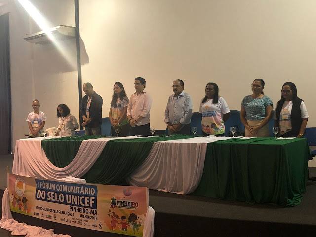Fórum de Comunitário do selo Unicef 2017/2020