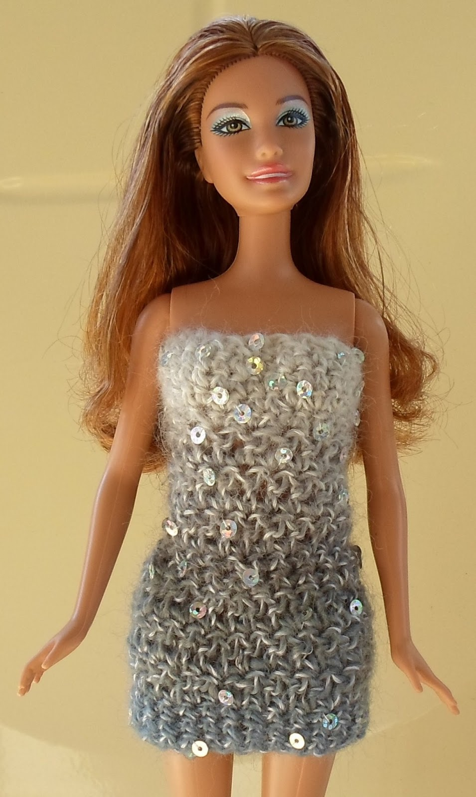 Happier Than A Pig In Mud: Blinged-Up Crochet Barbie ...