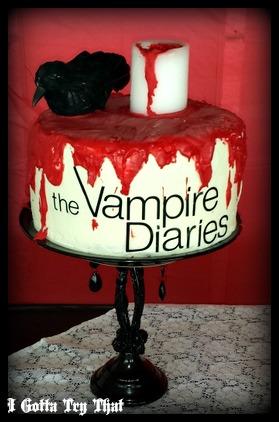 Vampire Diaries Cake Decorations