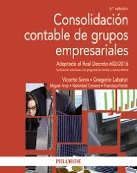 Consolidación contable de grupos empresariales. Tercera edición.