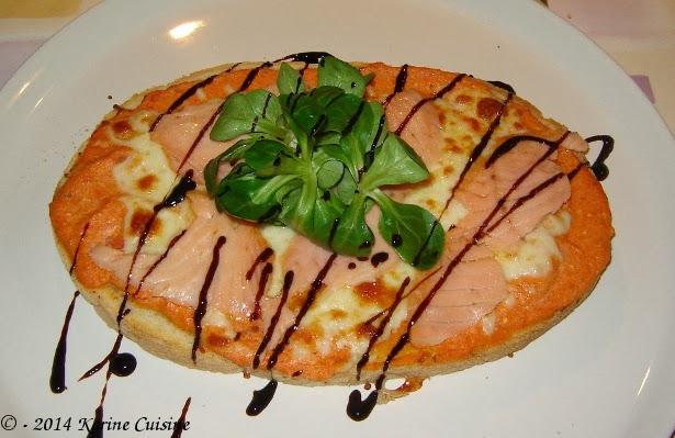 Voici un délicieux plat italien vite préparé et délicieux, à l\u0027appéritif ou  encore en plat principal.