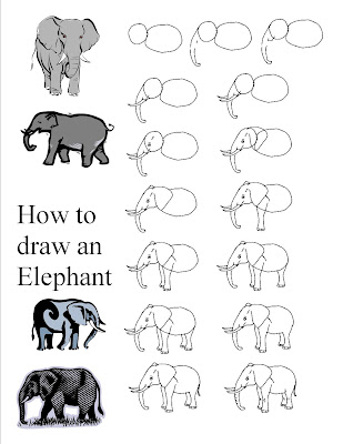 How to Draw African Elephant