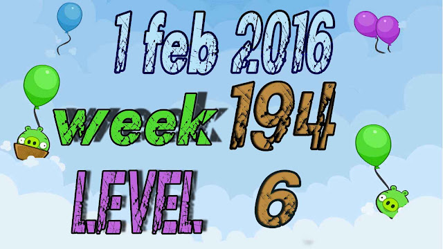 Angry Birds Friends Tournament level 6 Week 194