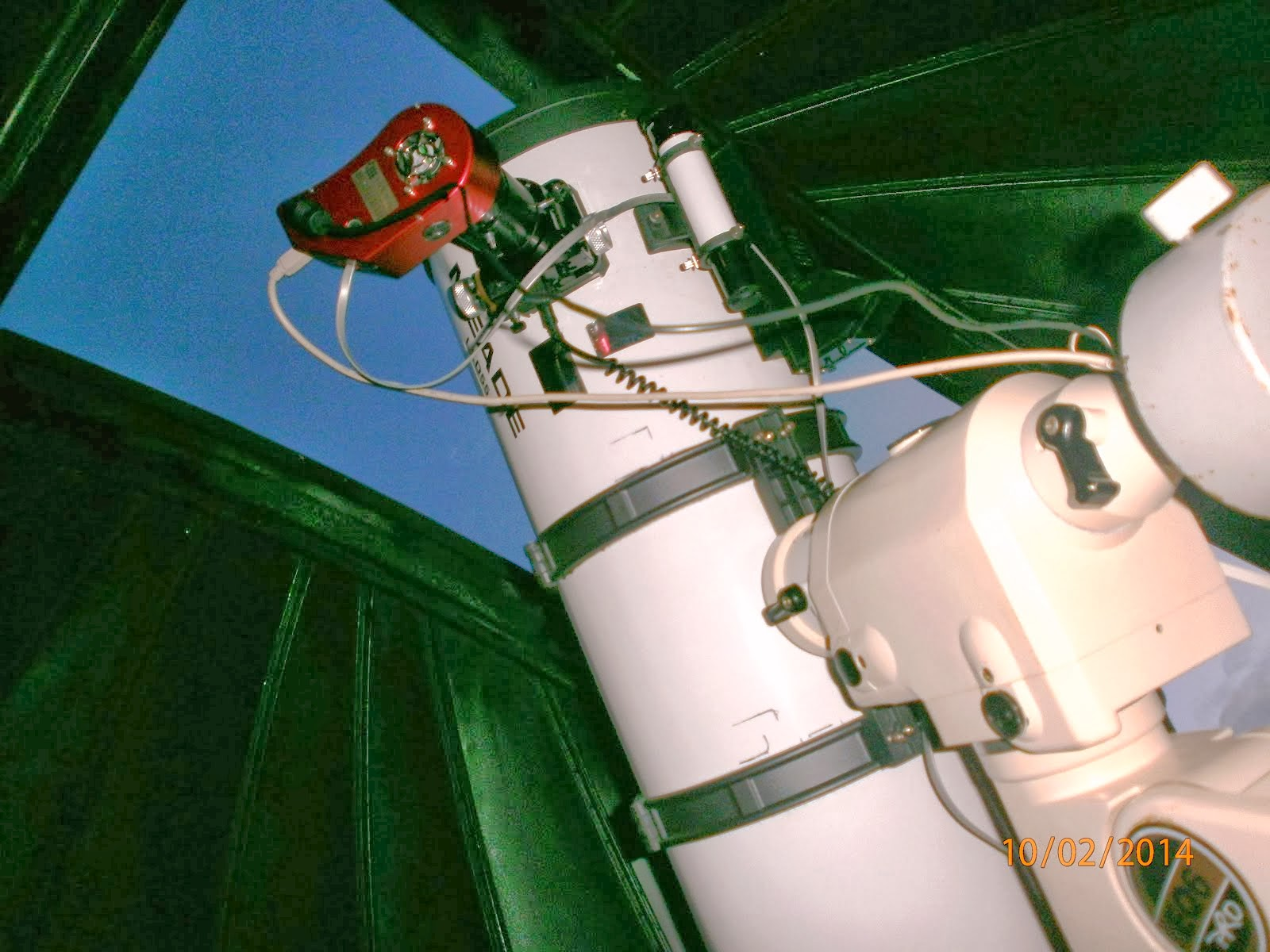 SNewton 10'' Focuser JMI and Atik16HR ccd camera