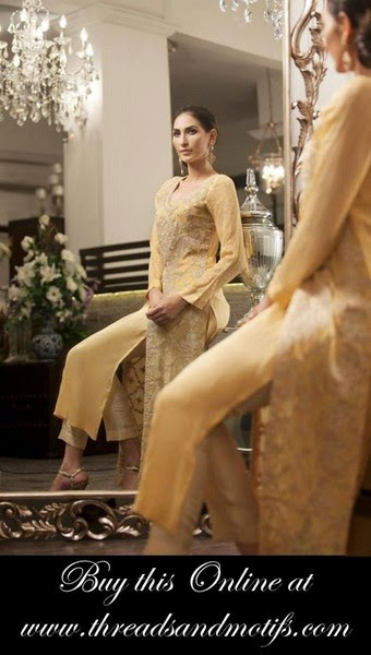 THREADS AND MOTIFS Winter | Fall Dress Collection 2014-2015
