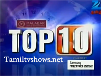 Zee tv Tamil Top 10 News 22-07-2014