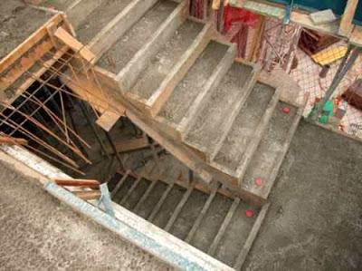 El maestro de obras xavier valderas hacer escalones de for Construccion de escaleras de concreto armado