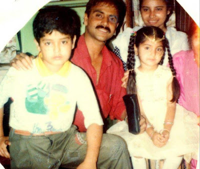 Anushka Childhood Photo