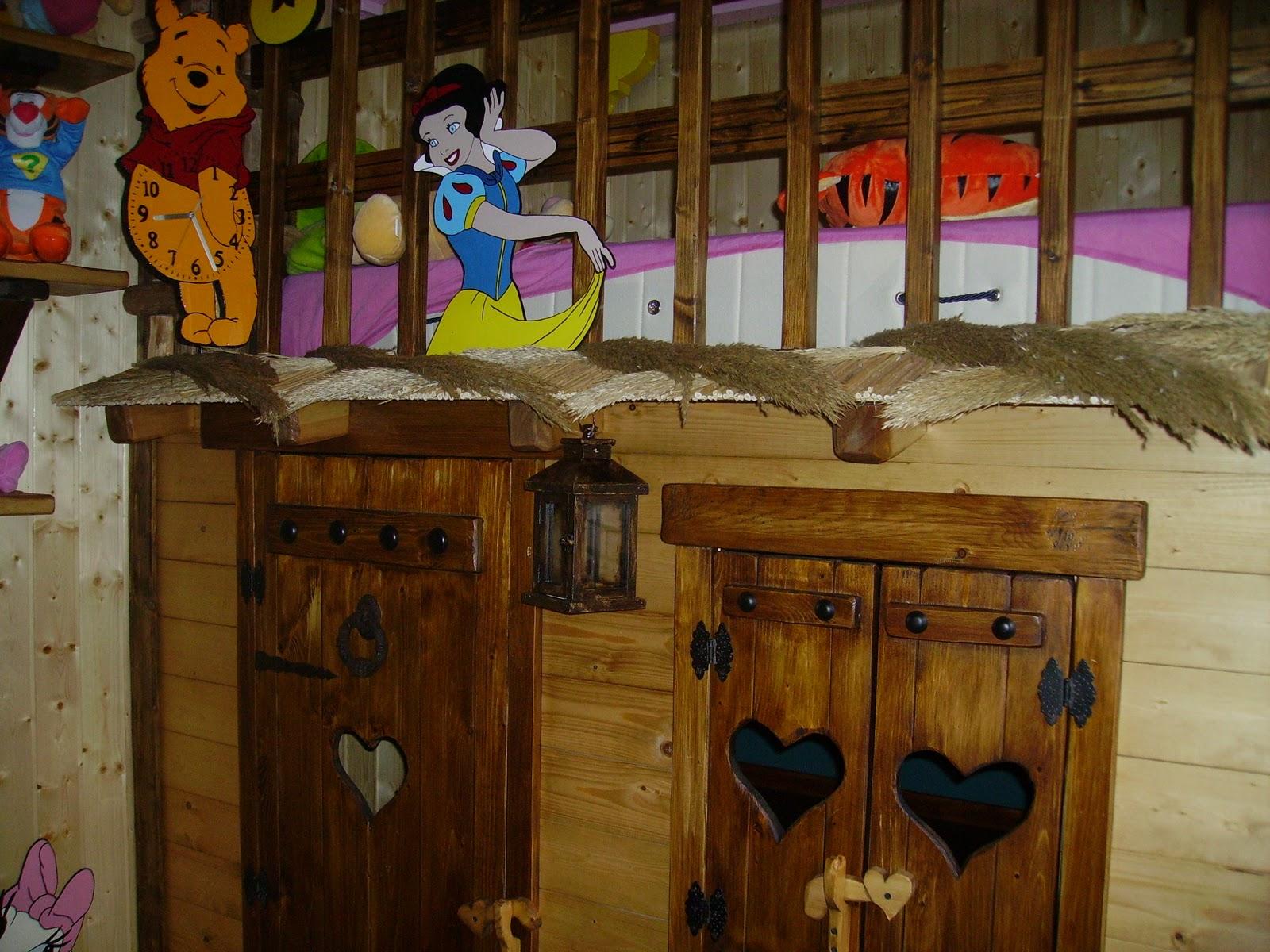 Arte en madera la casita de blancanieves - La casita de madera ...