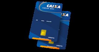 cartao de credito azul caixa