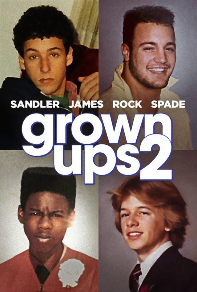La película Grown Ups 2 ( Niños grandes 2 )