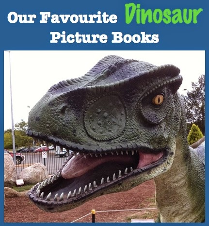 Our Favourite Picture Books About Dinosaurs