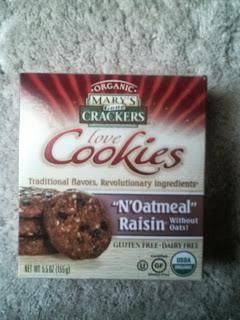 Mary's Gone Crackers, N'oatmeal Raisin Cookies