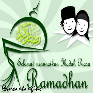 DP BBM selamat bulan ramadhan