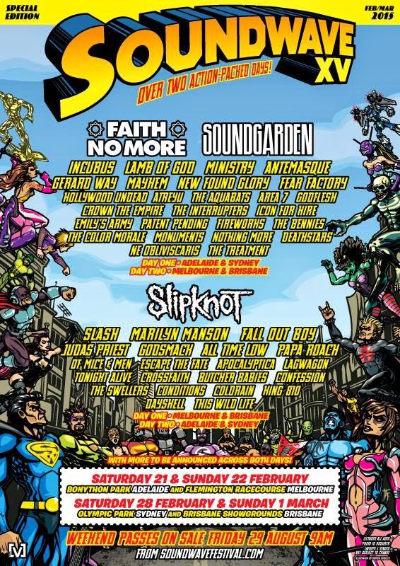 soundwave festival 2015 australia