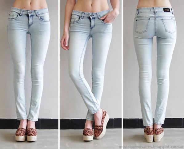 Pantalones de jeans de verano moda 2014 Sweet