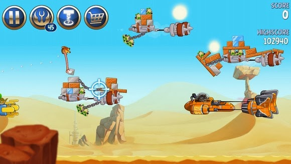 Angry Birds Star Wars 2 screen 3 Angry Birds Star Wars 2 v1.0 Cracked 3DM